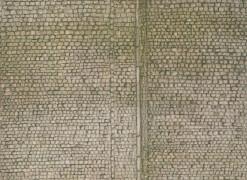 H0 Mauerplatte, Pflaster