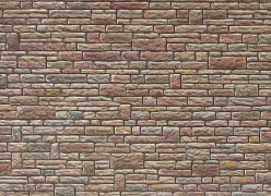H0 Mauerplatte, Sandstein, grün-gelb-braun