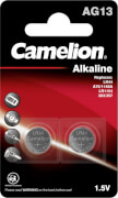 Camelion Batterien Alkaline Knopfzelle ohne Quecksilber,  2er Blister