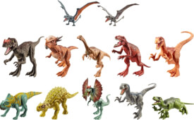 Mattel FPF11 Jurassic World Attack Pack Sortiment