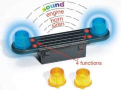 Bruder 02801 Zubehör: Light and Sound Module