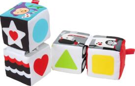 Mattel GFC37 Fisher-Price® Babys weiche Wendewürfel