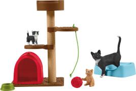 Schleich Farm World 42501 Spielspaß für niedliche Katzen