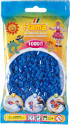 HAMA 207-09 Bügelperlen Midi, hellblau, 1.000 Stück, ab 5 Jahren