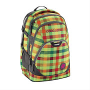 Coocazoo Schulrucksack EvverClevver 2 Hip to be Square Green