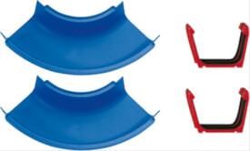 AquaPlay 2 gebogene Kanalstück mit Kupplung