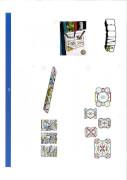 BOOMco Nachfüllpack Zielscheibensticker