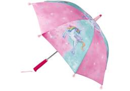 Die Spiegelburg 14958 Einhorn-Paradies - Regenschirm, mit Lichteffekten, # ca. 70 cm, inkl. Batterien