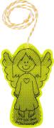 Schutzengel-Reflektor, Variante für Mädchen